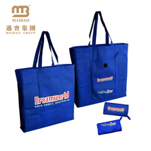 Manufacturer Cheap Custom Your Own Logo Print Promotional Shopping Recycle Foldable Non Woven Bag
