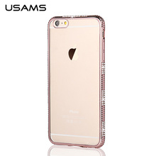 Bling Bling Back Case Silicon TPU Diamond Case for iPhone