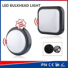 Solar charged PIR Security Motion Oval Outdoor Eyelid bulkhead Lights Exterior Ceiling or Wall Mount Lighting (JL-3522)