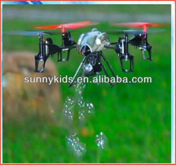 Bubble Quadcopter 2.4G RC Bubble 4-AXIS Quadcopter RC Bubble UFO