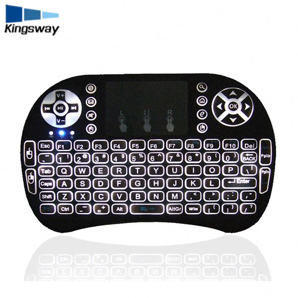 Stock Products Status and Wireless Type mini colored I8+ wireless keyboard and mouse combo touchpad