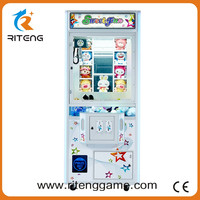 China Supplier adult toy vending machine toy story double claw crane machine