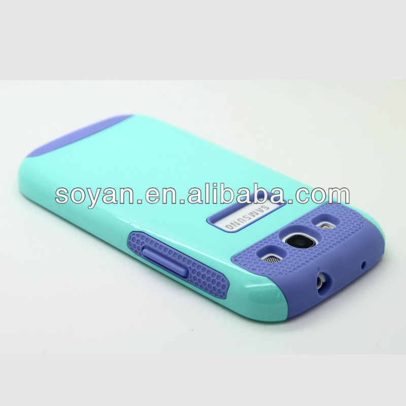 new creative PC+TPU hybrid mobile phone cases for N9300