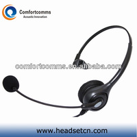 Monaural best selling cheap wired call center headset headphone with micorphone HSM-600N
