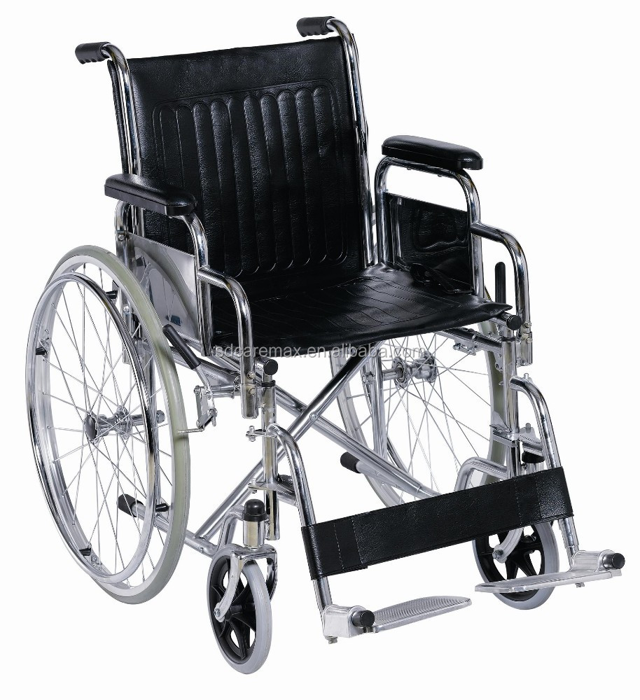 Caremax Factory supply Good price Steel manual wheelchair