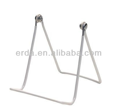 Two Wire Display Stand for Art, plates, hats, and more