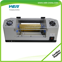 digital hot roll gold foil printer