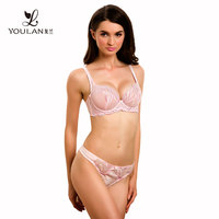 Sexy Lady Inner Wear Bra And Panty Set Transparent Sexy Bra Set Underwear Bra Set