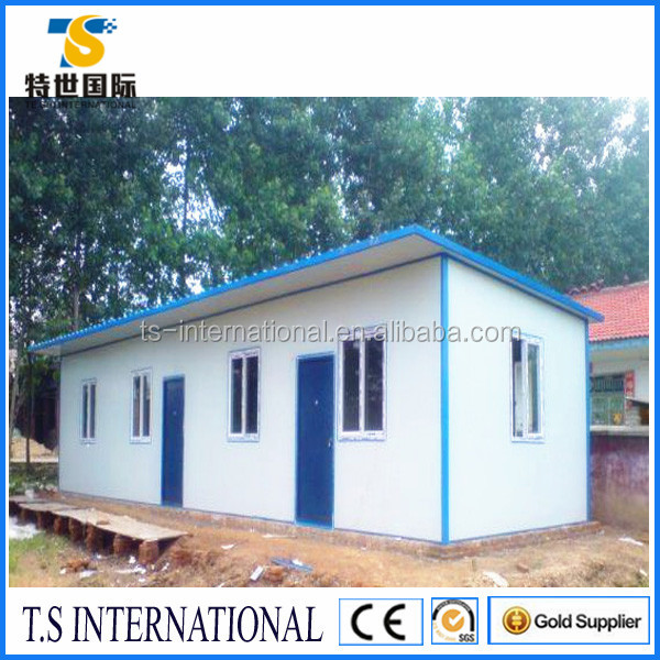 Small Cheap Log Cabin Prefabricated Wooden House for sale prices Villa design made in China