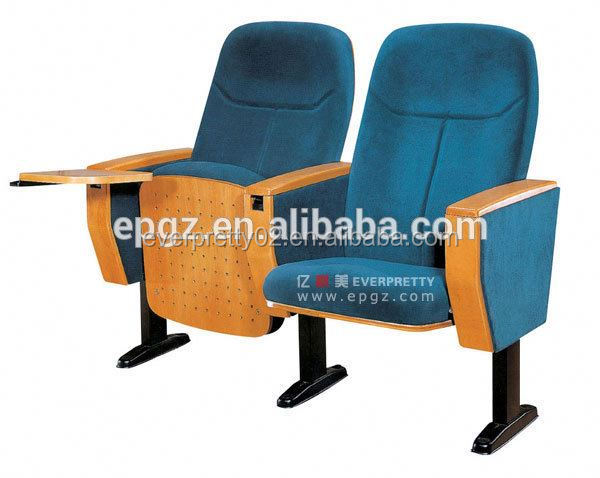 Temporary folding auditorium chair theater furniture auditorium seat covers