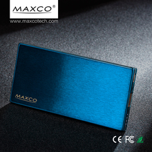 Maxco 5000mah emergency <strong>portable</strong> slim power bank mobile phone battery charger