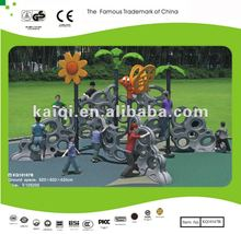 Updated Climbing Wall Outdoor Fitness Equipment, plastic LLDPE, used for Park, School and Home
