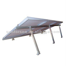 Adjustable solar installation brackets/structures/racks
