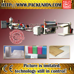 the latest epe foam sheet extrusion machine