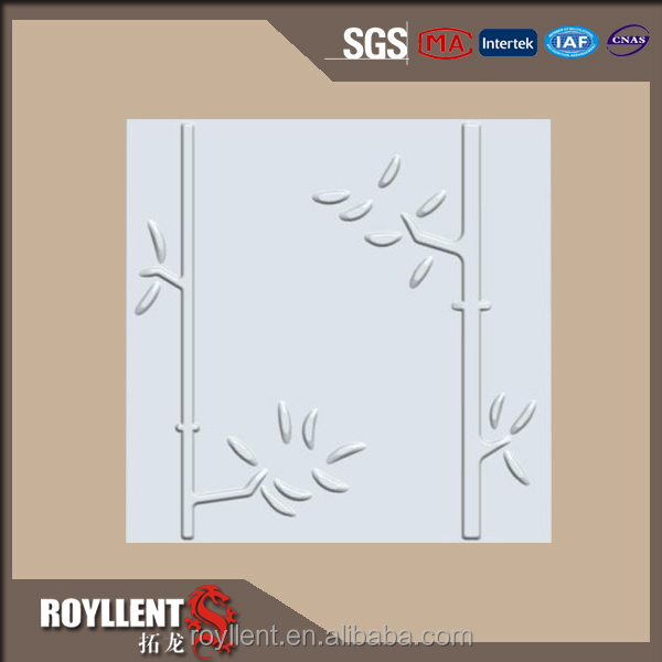high quality 3d printing wallpaper 3d pvc wallpaper decorative bamboo wall panel