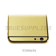 2015 top selling golden housing for iPhone 6 plus gold replacement(Luxury life style)
