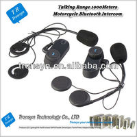 1000m motorcycle bluetooth intercom bt interphone