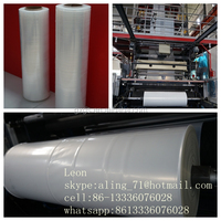 best price white colored transparent uv stablized fire retardant printable LDPE MDPE plastic pe film bags rolls