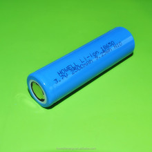 3.7v icr 18650 li-ion rechargeable battery 2500mah