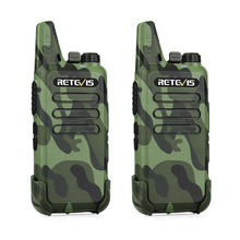 Retevis RT22 Camouflage Emergency Alarm Monitor Walkie Talkie For <strong>Security</strong> 2W UHF400-480MHz 16CHTOT VOX Squelch two Way Radio