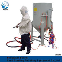 Sandblasting equipment,Movable electronic Control Sand Blaster with spray gun