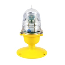 Blue color Heliport Elevated Taxiway Edge Light/helipad lighting / helideck light