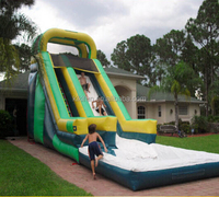 commercial amusement park giant inflatable water slide S055