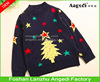 2016 fashion Christmas apparel knitted Xmas jumper children winter Jacquard Sweater
