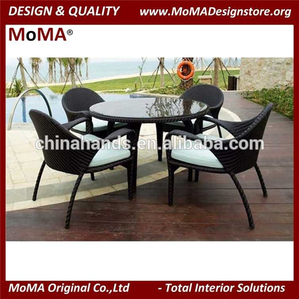 Wholesale Leisure Restaurant Furniture Outdoor Rattan Table And Chairs