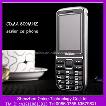 2.4 inch big button cdma mobile HT168 big battery 2800MAh Li-ion old people phone