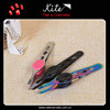 Professional Girls Eyebrow Tweezers Personalized Lady Cosmetics Scissor Handle Tweezer