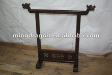 Chinese antique carved gong stand