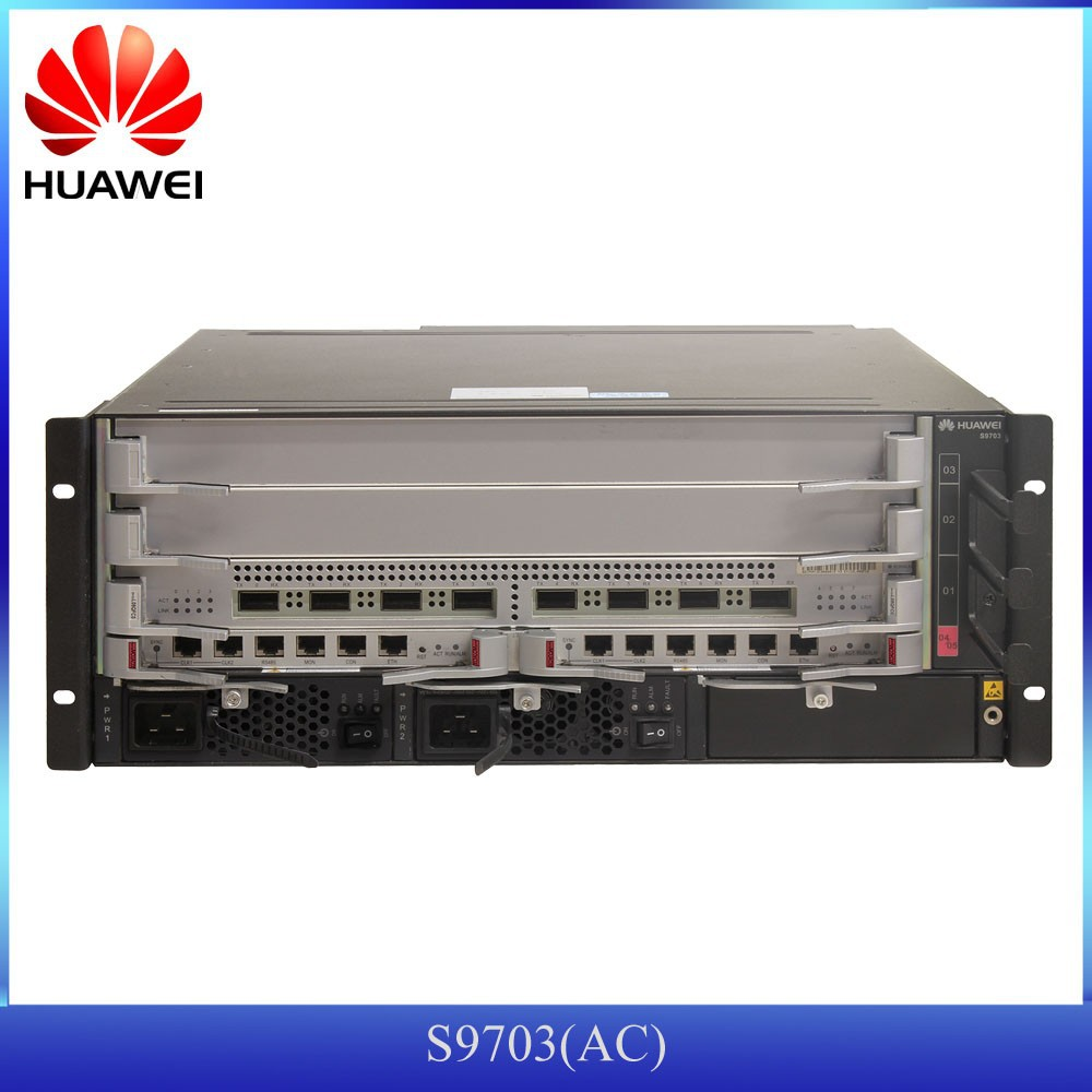 HUAWEI 10G Core Routing SFP fiber switch S9703 with GE, FE, 10GE ports