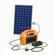 67600mAh solar generator lithium battery backup power system portable home power station
