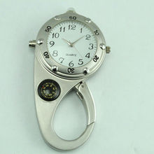 high end advanced big face pocket watches silver