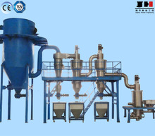 Germany technology vertical multi-grade fluidized bed jet mill