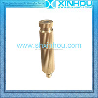 Moistening retain freshness brass water mist spray nozzle