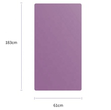 Fitness Suitable Eco-friendly Gym TPE Yoga Exercise 6mm Thick durable Yoga Mat