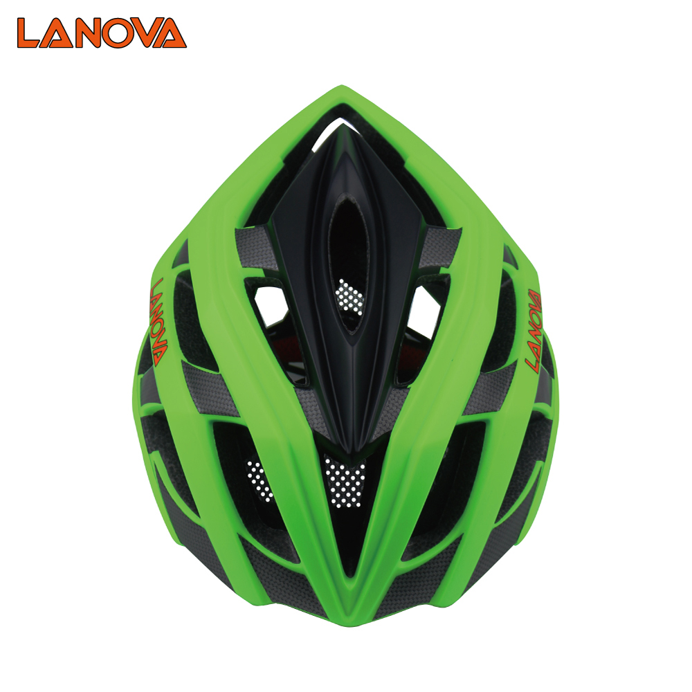 Streamline design in-mold phototype mountain bike MTB helmet