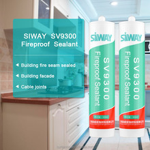 Fireproof silicone adhesive sealant special for electronic components fixation