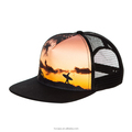 Custom Made Printed Mesh Snapback Hats Trucker Hats