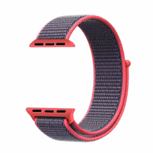 Custom Nylon Smart Watch Strap Band For Apple Watch 38 42mm