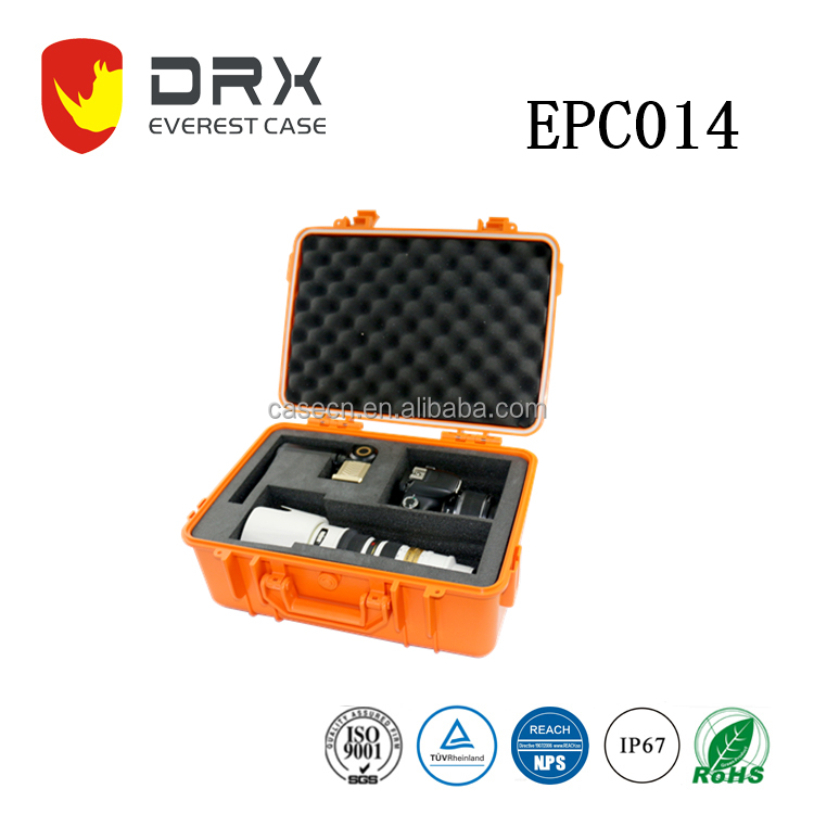 DRX IP67 Rating Plastic Hard Camera Case with Foam