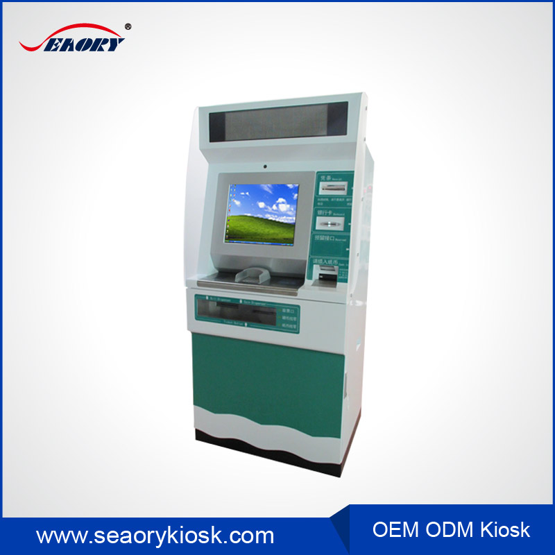 self checkout information note acceptor bill payment touch screen kiosk