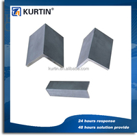 factory price steel angle iron weights with slotted holes