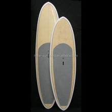2015 Hot!!!! Epoxy resin fiberglass bamboo stand up paddle board/natural wooden paddle board ,cheese board