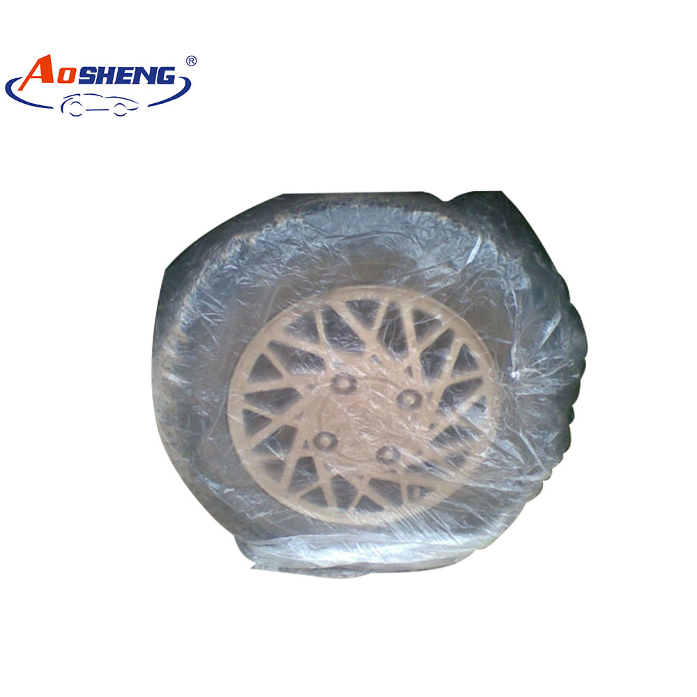 disposable car tire cover