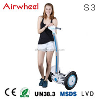 Airwheel S3 adult electric car with CE,RoHS,MSDS certificate SONY battery in changzhou