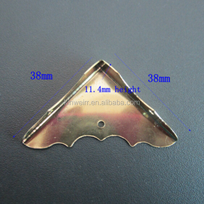 Wholesale Bronze Hardware Corner For Wooden Box