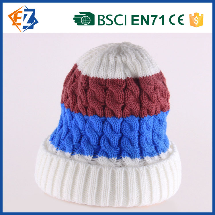 Warm and Fashion Ear Hat for Outdoor and Winter